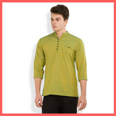 Yellow Kurta for Men : Dressprise.com
