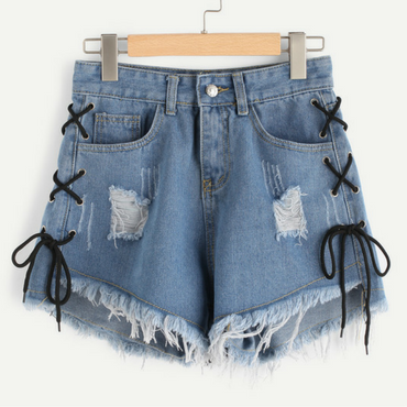 Denim Shorts - Dressprise