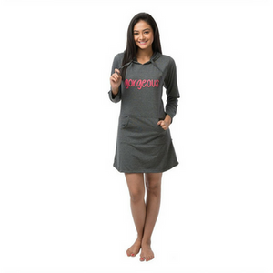 Gorgeous Hoodie T-shirt Dress