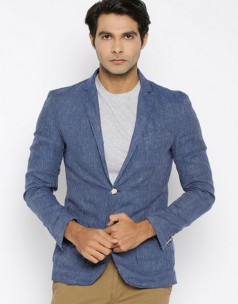 Jack & Jones - Blue Blazer
