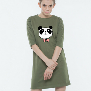 Dressy Panda - T-shirt Dress