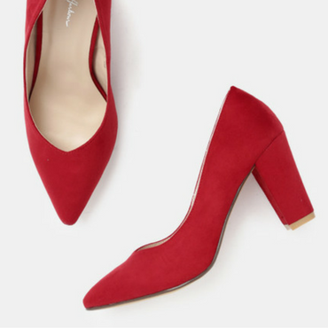 Red Solid Pump