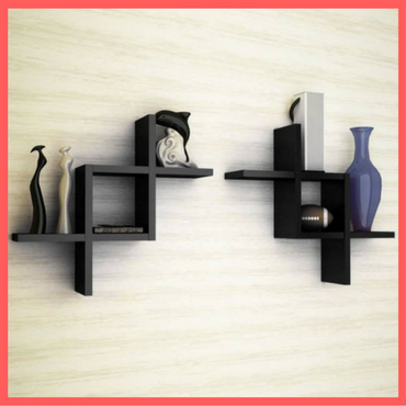 Wooden Wall Shelf - Home Decor