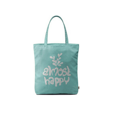 Almost Happy Tote Bag