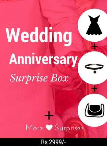 Wedding Anniversary Gift Box for Her