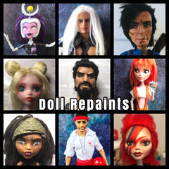 Doll Repaints and Customs