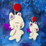 Jumbo Moogle Acrylic Brooch Only 1 available