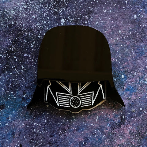 Spaceballs the Dark Helmet Acrylic Brooch