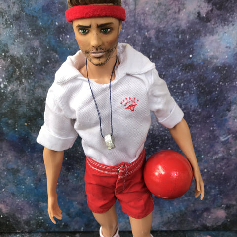 Dean Winchester Gym Teacher Supernatural Jensen Ackles OOAK