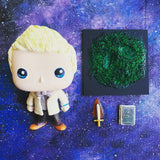 Aziraphale Custom Pop Vinyl OOAK Good Omens Michael Sheen Doll Repaint