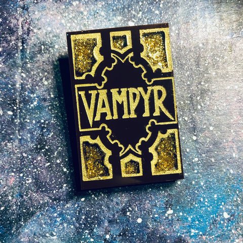 Vampyr Book Acrylic brooch Plastic Buffy