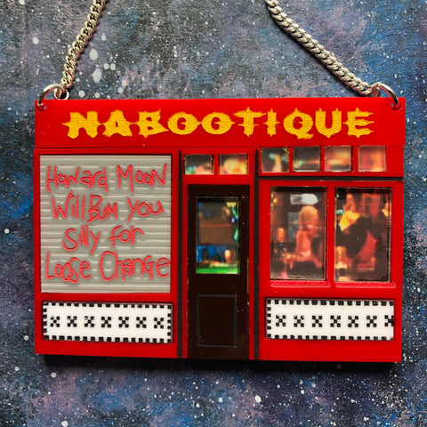Nabootique Acrylic Necklace