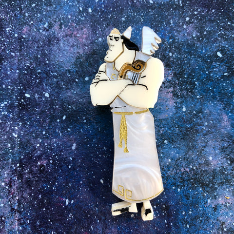 Kronk Angel Acrylic Brooch