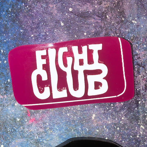 Fight club Acrylic brooch Plastic Soap Pink