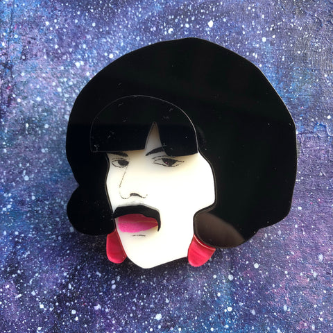 Freddie Mercury Acrylic brooch Bohemian Rhapsody I Want to Break Free