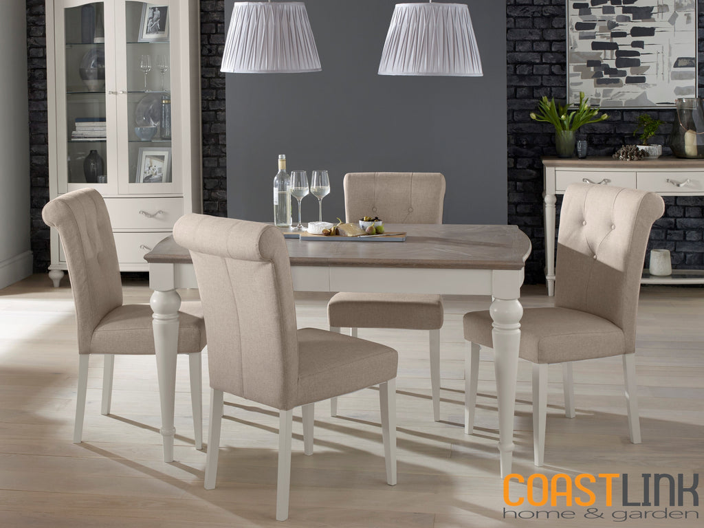 Manhattan 5-Piece Rectangular Extension Dining Set