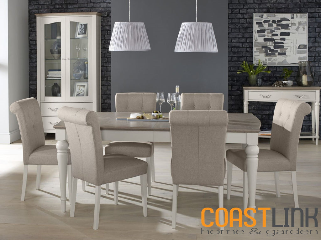 Manhattan 7-Piece Rectangular Extension Dining Set
