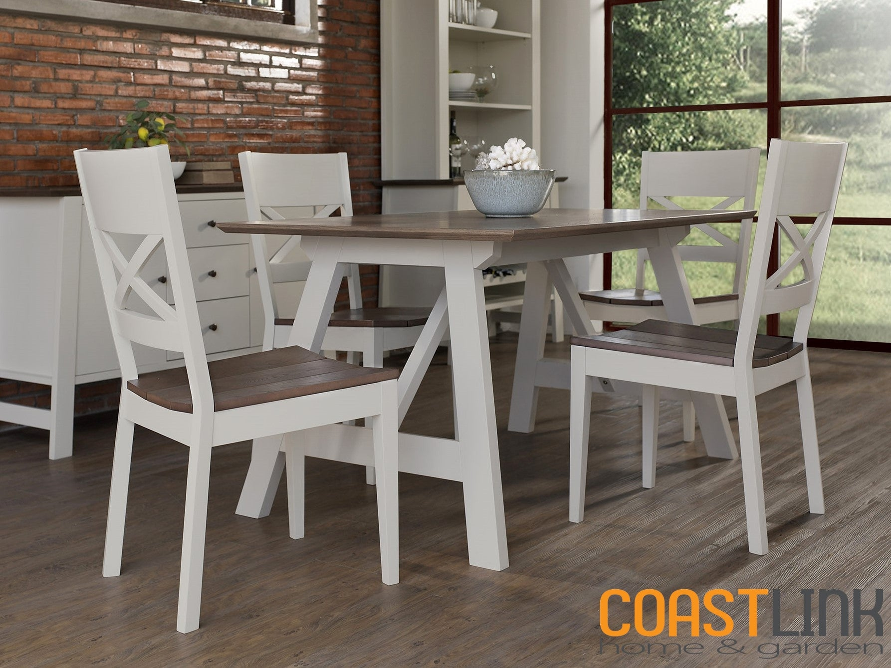 Lovely ... Milan Small 5 Piece Dining Set ...