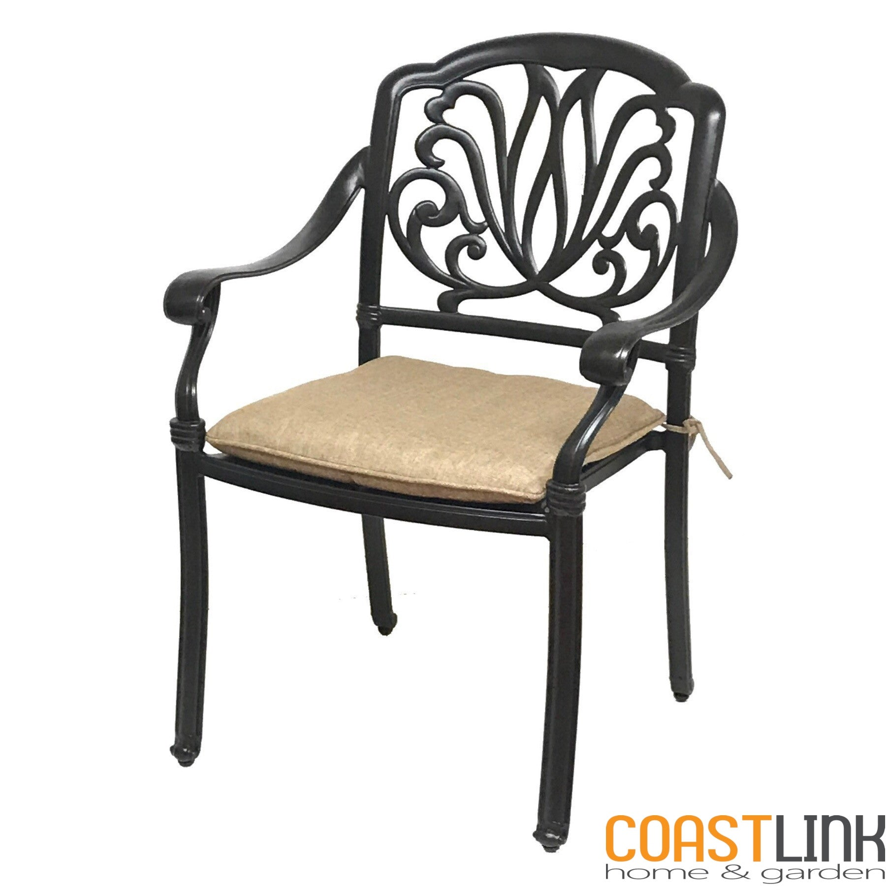 ... Elise Cast Aluminum 9 Piece Patio Dining Set ...