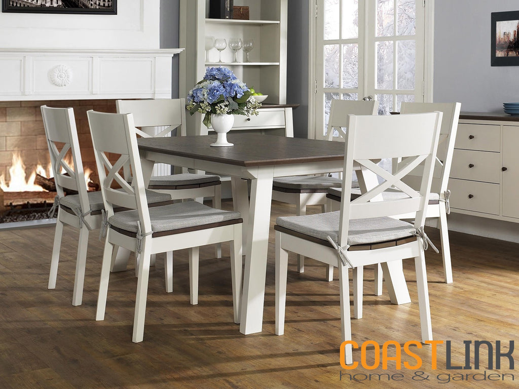 Milan Extension 7-piece Dining Set
