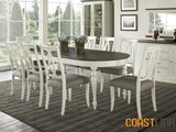 Vegas 9-Piece Oval Extension Dining Set
