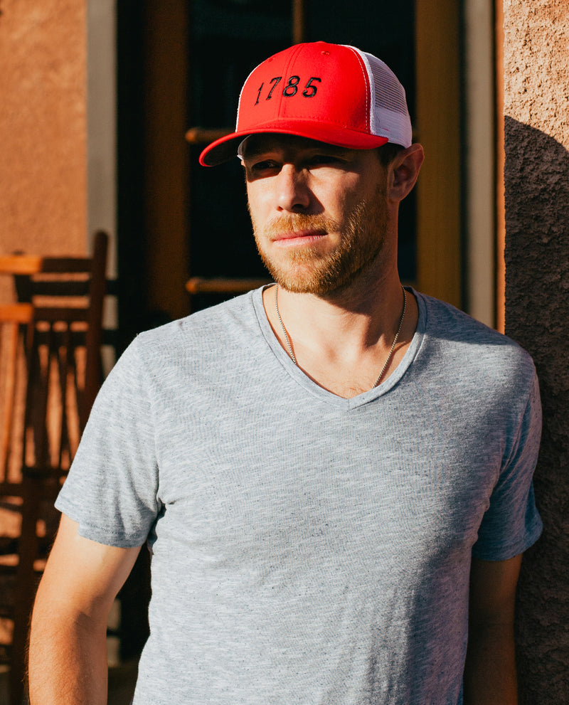 Est. 1785 Athens GA Trucker | Red