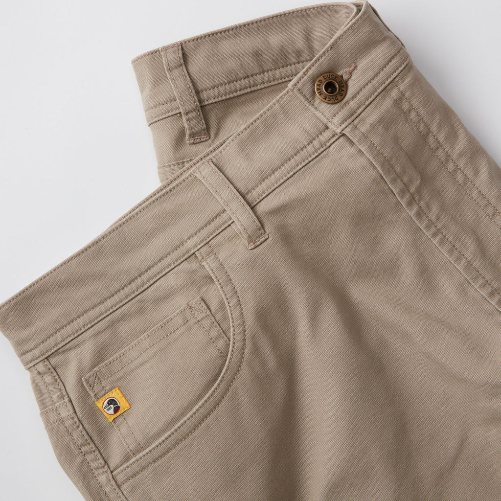 1865-Pocket Pinpoint Canvas | Khaki