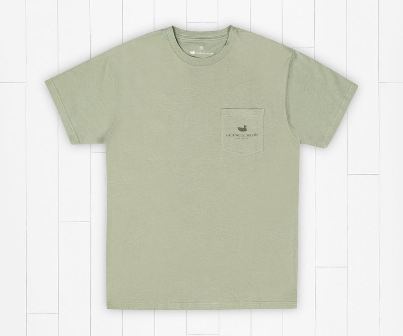 Southern Tradition Tee - Morning Rise Bay Green