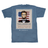 AMERICAN CO. ABE LINCOLN SHORT SLEEVE POCKET TEE