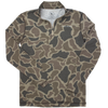 Duck Camo 1/4 Zip Jacket
