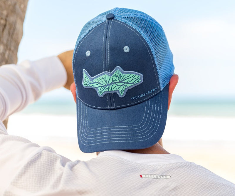 Trucker Hat - Delta Fish
