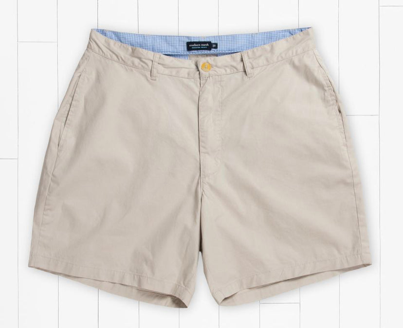 Windward Summer Short - 6in. Flat Front- Tan