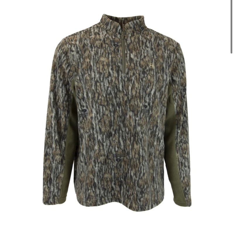 Field Fleece 1/4 Zip: Mossy Oak Bottomland