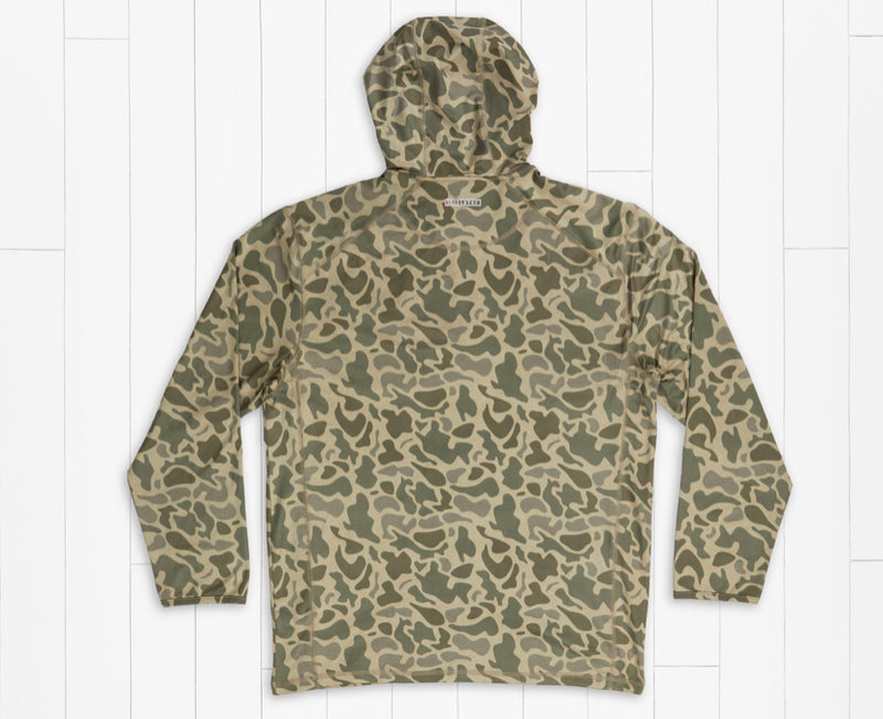 Youth Tidal Performance Stretch Zip Hoodie Camo