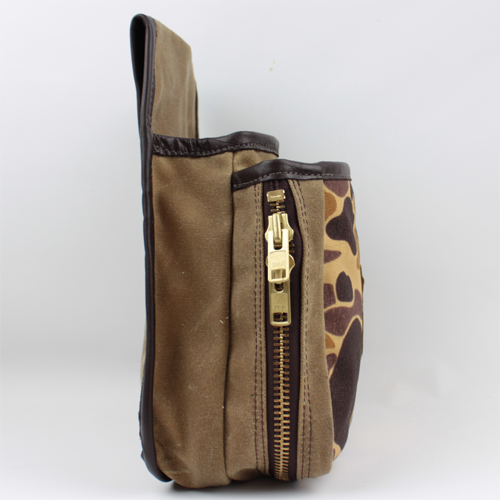 Old School Camo Shell Pouch - Large