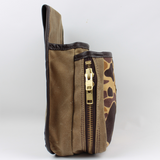 Large Shell Pouch | Old School Camo
