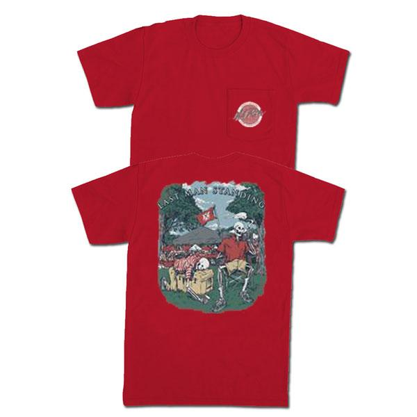 LAST MAN STANDING POCKET TEE (UGA RED)