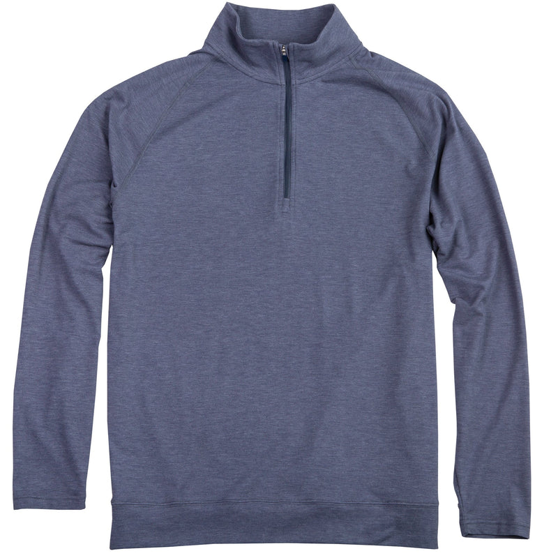 BAMBOO PERFORMANCE PULLOVER NAVY