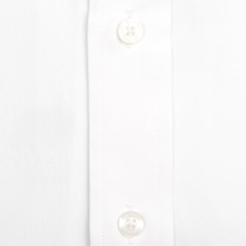 SOLID WHITE CLASSIC FIT PERFORMANCE BUTTON DOWN