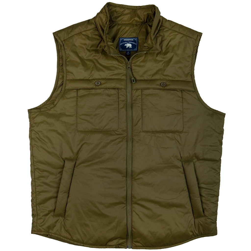 THE FEATHERWEIGHT VEST OLIVE