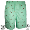 Dock Dog Swim Trunk Seafoam