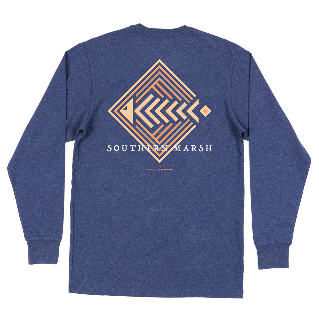 Aztec Catch Long Sleeve Tee