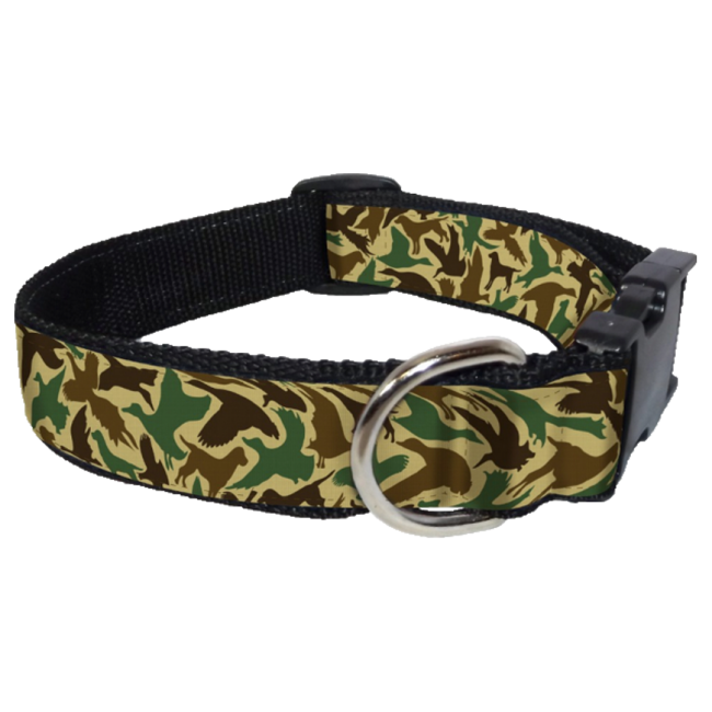 Ribbon Collar | Old School Camo