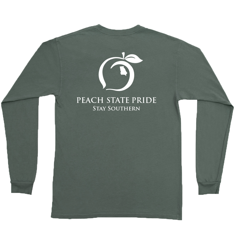 Classic Stay Southern Long Sleeve Tee | Sage