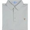 FAIRWAY CLUBHOUSE STRIPE PERFORMANCE POLO