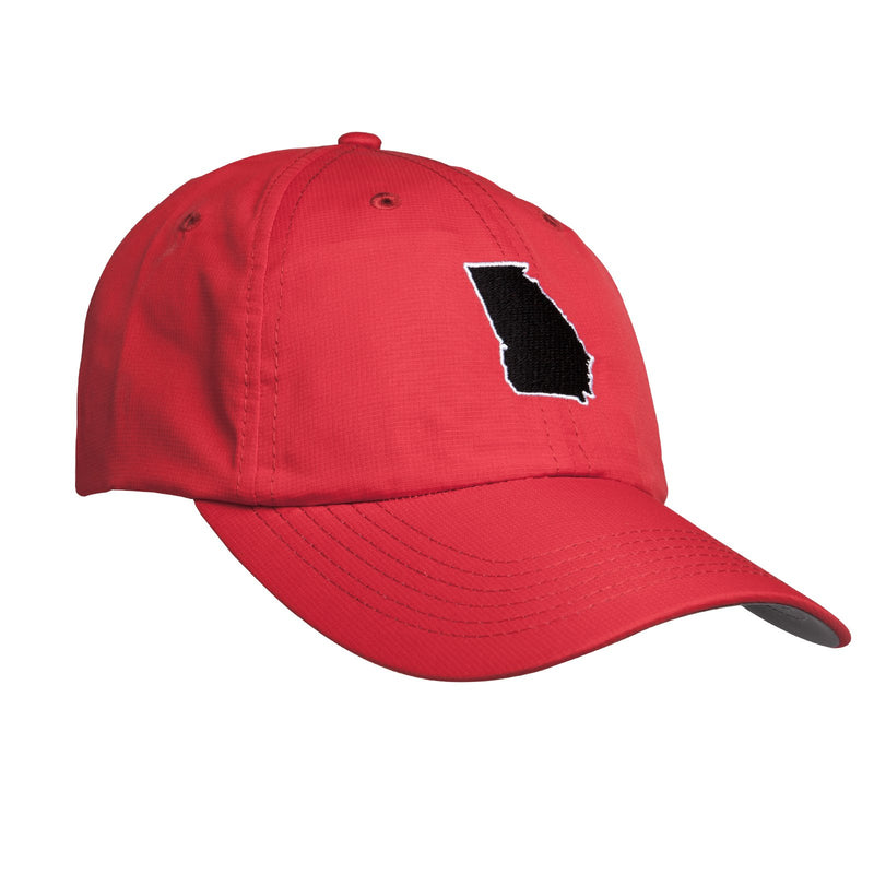 GEORGIA STATE PERFORMANCE HAT / Red