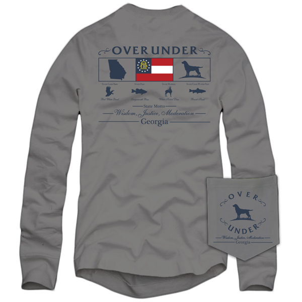 State Heritage Sportsman Georgia Long Sleeve T-Shirt