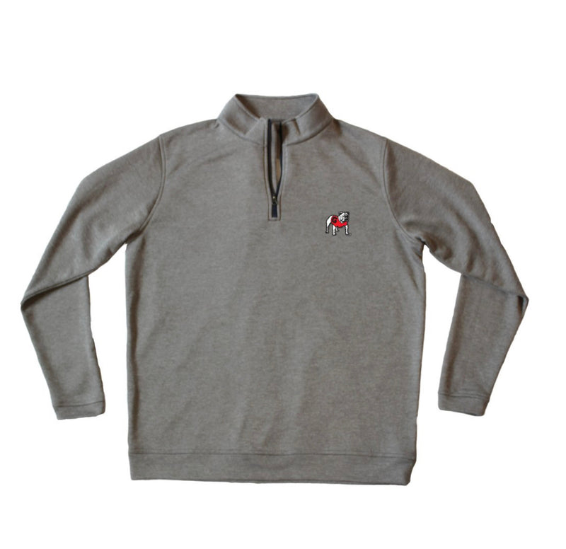 UGA Standing Dog Carter Performance Pullover