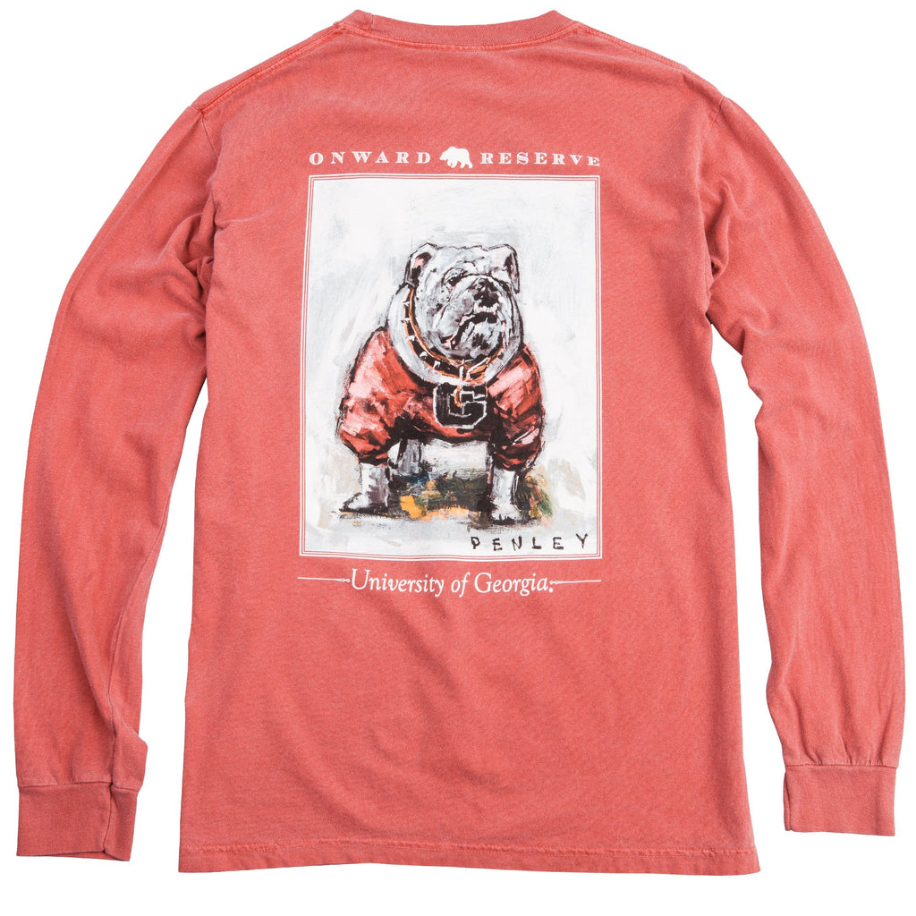 UGA Penley Long Sleeve | Red