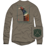 Royal Pheasant Long Sleeve Tee